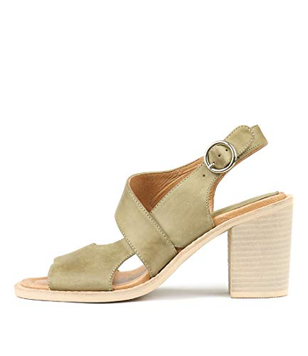 Shoes Leather amp; JULIETTE Heels Womens Khaki Tavaris Womens DJANGO RfZwqznp
