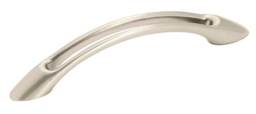 Open Arch 3-3/4-Inch Pull, Satin Nickel ()
