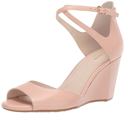 (Cole Haan Women's Sadie Grand Open Toe Wedge Sandal (75MM Pump, Pink, 7.5 B US)