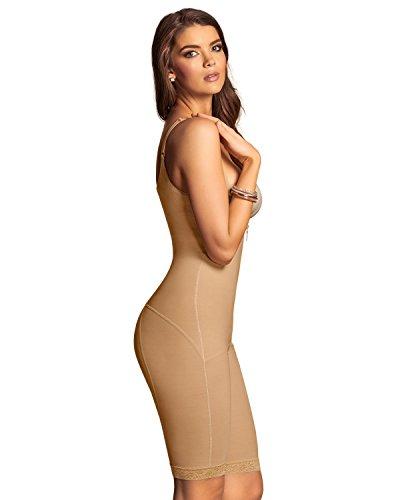 Body-Shaper mit Shorts- Leonisa Beige XL