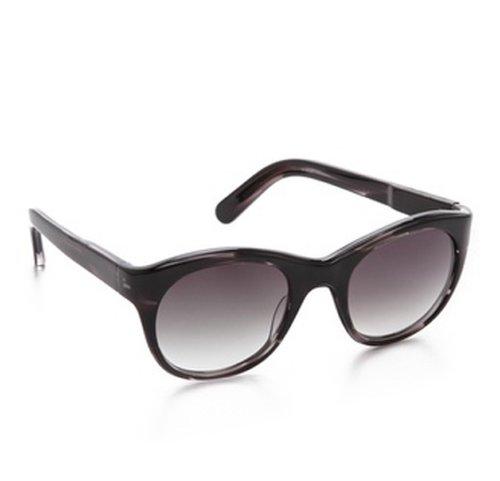 Elizabeth and James 1221 Horatio Sunglasses color 0210 Dark Smoke ()