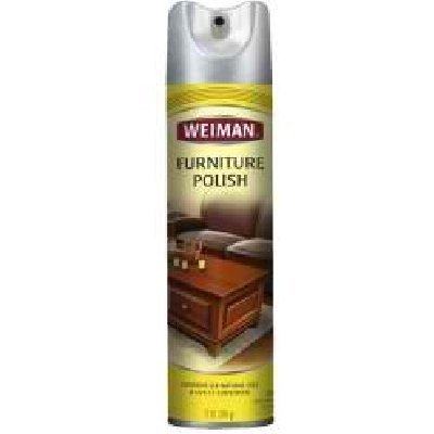 Weiman Furniture Polish with Lemon Oil, 12 Ounce - 6 per case.