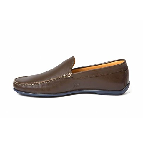 Heller Driving Austen Brown Classics Leather Men's Loafers 1POwxqZRO