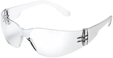 Transparent//Orange Univet 513.02.00.00 No.513 Safety Goggles with Clear Glass