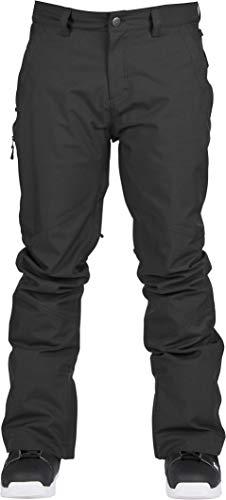 Bonfire Surface Stretch Snowboard Pants Black Mens Sz L