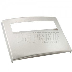 Bobrick Contura Series Surface Mount Seat Cover Dispenser - Satin Finish Stainless Steel - 15-3/4