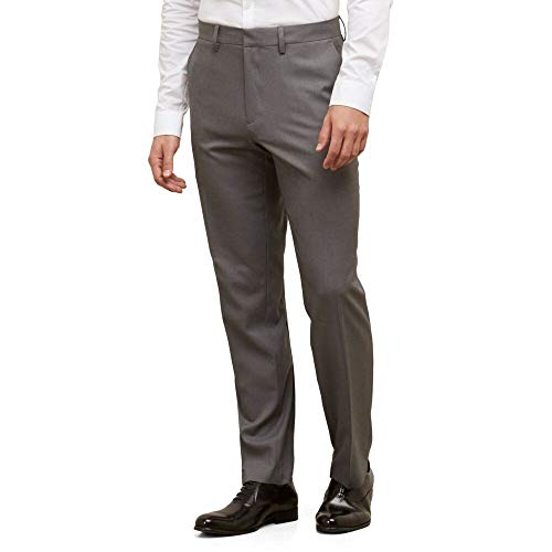 (Kenneth Cole Reaction Straight-Fit Stretch Dress Pant)