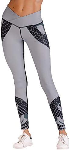 ヨガウェア ヨガパンツグレー色ヒットスポーツフィットネス用ホーム女性ハイウエスト速乾性ランニングパンツおなかコントロールパワーストレッチヨガレギンス