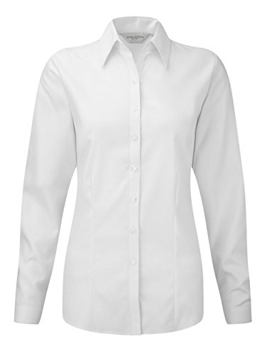 Russell Collection - Camisa formal - para hombre Light Blue