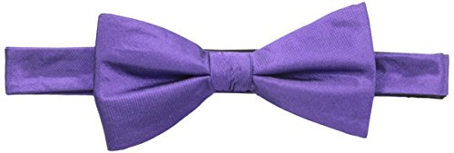 Countess Mara Men's For Every Occasion 100% Silk Bow Tie, Purple, One Size (Countess Mara Woven Tie)