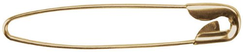 Darice Jewelry Designer 2-1/4 Inch French Jewelry Pins - 50PK/Gold
