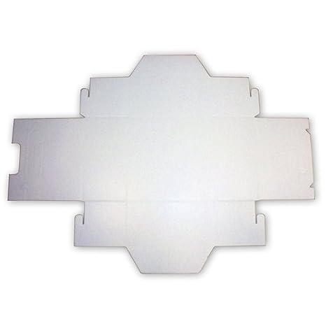 Box Gel - 10 cajas térmicas para el transporte de tartas, helados y repostería, 30 x 30 x 14 cm, de poliestireno: Amazon.es: Hogar