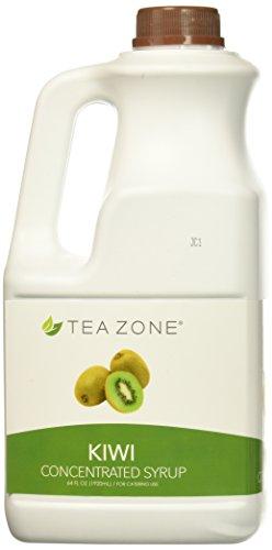 Tea Zone Syrup, Kiwi, 64 Fluid Ounce