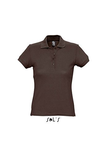 Sols Women Passion 11338 Polo Chocolate