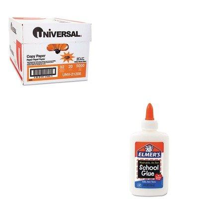 KITEPIE304UNV21200 - Value Kit - Elmer's Washable School Glue (EPIE304) and Universal Copy Paper (UNV21200)