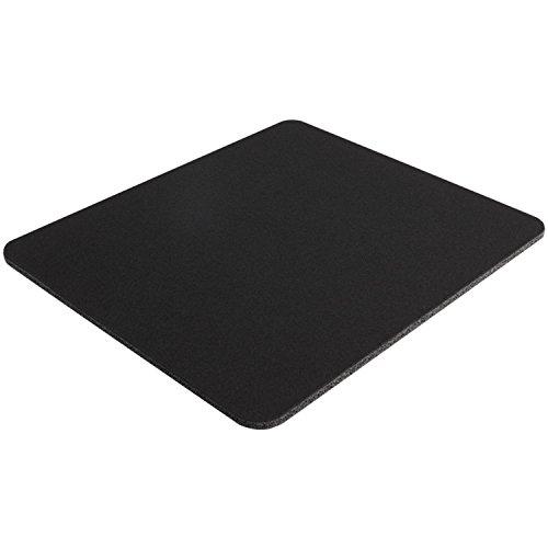 10 Pack Black Mouse Pad Fabric W/ Rubber Backing 8x9x25in Photo #3