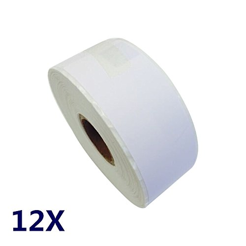 12 rolls Dymo compatible 30252 shipping and postage label(1-1/8