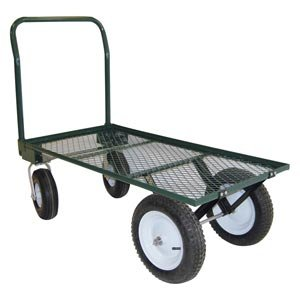 EZ-Haul 4 Wheel Garden Cart