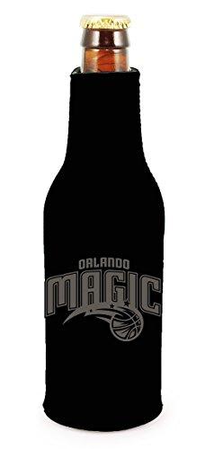- Orlando Magic 2-PACK Zipper BOTTLE Tonal Black Koozie Neoprene Holder Cooler Coolie Basketball