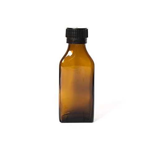 Edens Garden Amber Glass Bottle for Essential Oils - Single 100 ml Refillable Empty Amber Bottle (Eden Glasses)