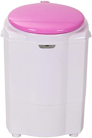 New Pink Mini Washing Machine - Portable Compact Laundry Washer, Perfect for Small Loads and Quick Washes - Lightweight with Electric Spin, Great for ALL Baby Clothes and Studios- Huge 3-Year Warranty