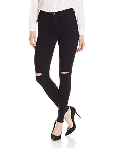 William Rast Women's Scultped Highrise, Black, - William Black
