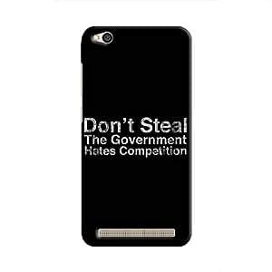Cover It Up - Govt Steals Redmi 5A Hard Case