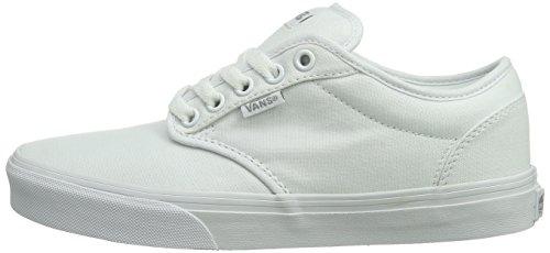 Sneaker Vans White Atwood Bianco canvas weiß Donna W 7hn TTHZnqE