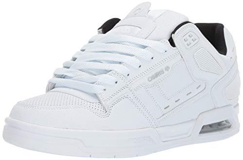 Osiris Men's Peril Skate Shoe, White/Black/Reflective 13 M US (Osiris Shoes White)