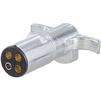 Amazon.com: CURT 57224 Towing Electrical Adapter, 4-Way Round ... on horn plugs, exhaust manifold plugs, hardware plugs, cable plugs, gauges plugs, seat belt plugs, motor harness plugs, engine harness plugs, hose plugs, map sensor plugs, fuel tank plugs, radiator plugs, tail light plugs,
