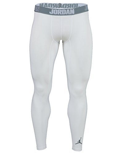 Nike Aj Hele Seizoen Compressie Heren Wit / Cool Grey