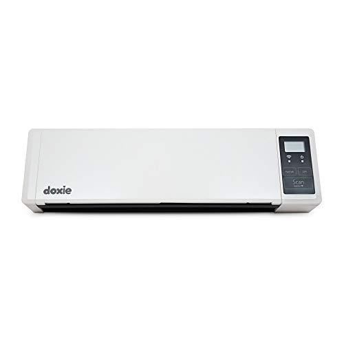 Doxie Q – Wireless Rechargeable Document Scanner with Automatic Document Feeder (ADF) (Certified Refurbished)