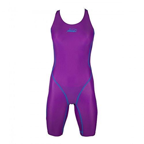 ZAOSU Wettkampf-Schwimmanzug Z-Purple für Mädchen und Damen, Größe:38