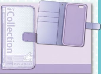 Diary Collection iPhone Case For iPhone6 (Sherbet Purple)