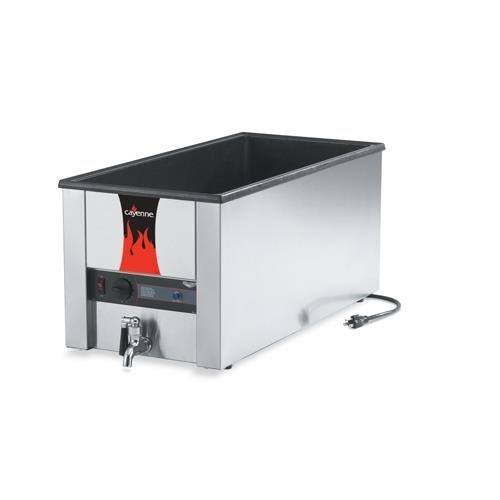 Serve Merchandiser - Vollrath (72051) Cayenne Heat 'N Serve 4/3 Food Warmer w/ Drain
