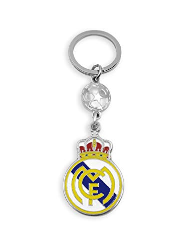 flagsandsouvenirs KEYCHAIN SPAIN SOCCER TEAM REAL MADRID GIFT