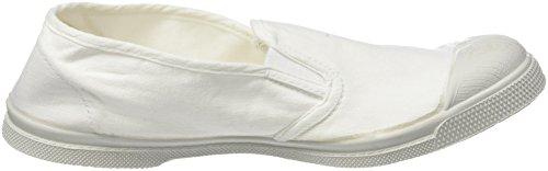 Mujer Blanc Zapatillas Tennis Tommy para Bensimon Blanco qASxBq