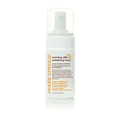 Mixed Chicks Morning After Redefining Hair Foam, 3.4 fl.oz. (Cheap Chicks Mixed)