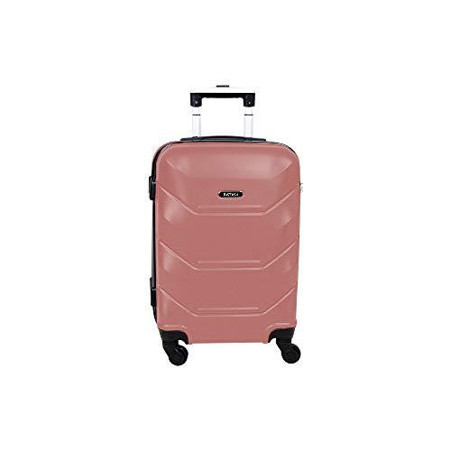Mala para Viagem, ABS, Pequena, Siena, Gold Pink, Batiki