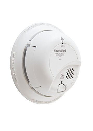 First Alert SC9120B-12pk BRK Brands Hardwire Combination Smoke/Carbon Monoxide Alarm with Battery Backup (12 Pack)