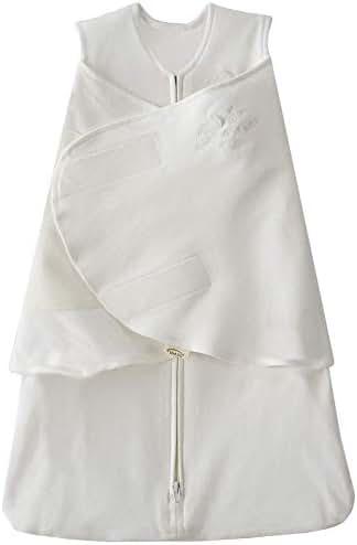 HALO SleepSack 100% Cotton Swaddle, Natural, Newborn