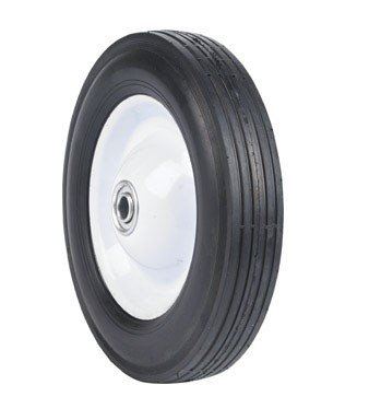 Arnold Ball Bearing Steel Wheel Rib Tread 8'' X 1.75'' 60 Lbs. Max. Load Bulk