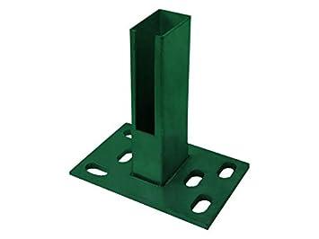 Zaun Nagel Bodenplatte Zum Aufschrauben 60x40 Mm Fur