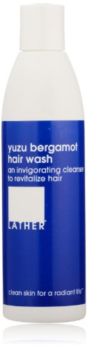 LATHER Yuzu Bergamot Hair Wash, 8-Ounce Bottle