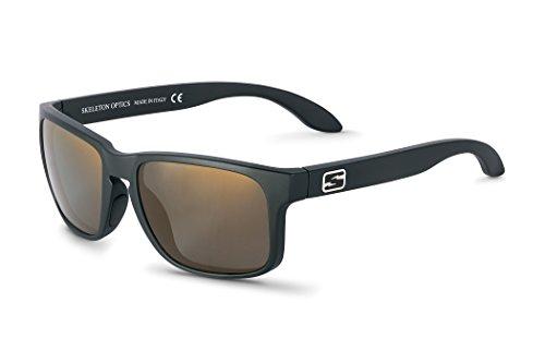 Skeleton Optics Decoy Standard Line Sunglasses, Brown, One Size