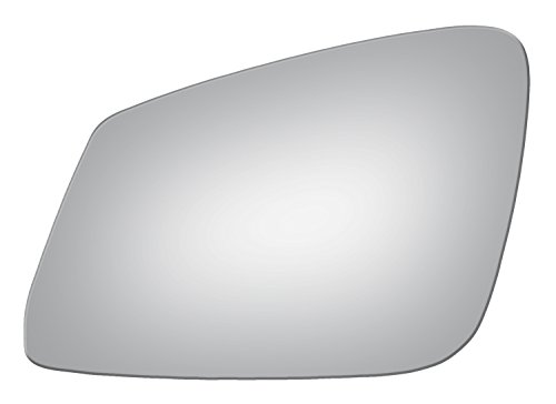 Burco 4295 Flat Driver Side Mirror Glass for BMW 228i, 230i, 320i, 328d, 328i, 335i, 335is, 340i, 428i, 430i, 435i, 440i, 525i, 528i, 535d, 535i, 550i, 640i, 650i, 740i, 750i, i3, M2, M3, M4, M5, M6