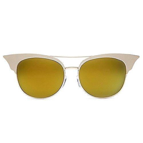 Quay Australia ZIG Women's Sunglasses Sharp Cat Eye Mirrored Lenses - - Sunglasses Zig Quay