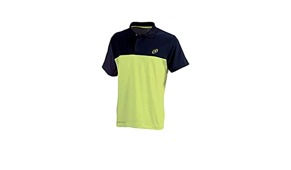 Bull padel Polo BULLPADEL BARRILLOS Verde Fluor Marino: Amazon.es ...