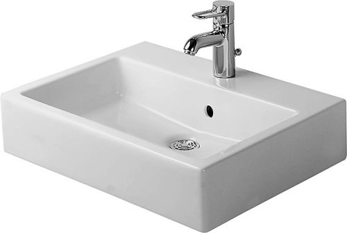 Duravit 04546000001 Vero Washbasin with Tap Platform, White