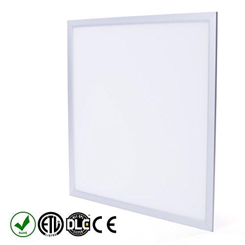 - Fovitec StudioPRO Office Industrial Home Energy Saving LED Light Panel Fixture Ultra Thin Bright 5000K 40W - 2 x 2 feet